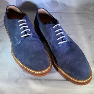 Men's To Boot suede derby shoes